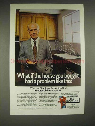 1984 Era Real Estate Protection Plan Ad Harry Morgan