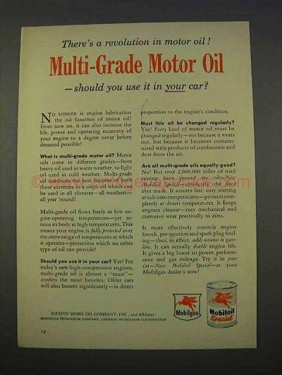 1987 Mobil 1 Motor Oil Ad Results Weren 39 T Surprising