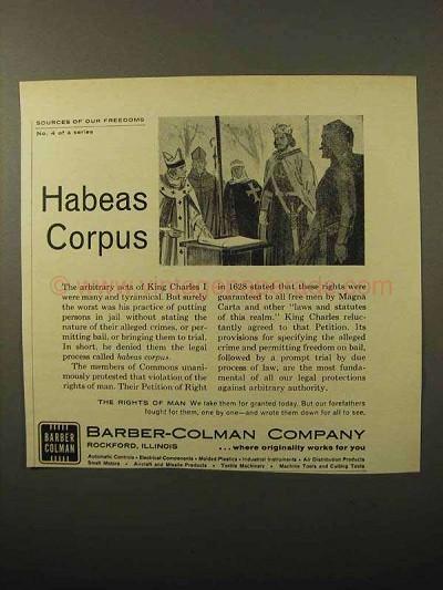 Habeas Corpus Essays (Examples)