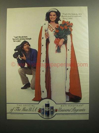 1984 Secret Deodorant Ad - I Get The Picture